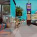city bus station